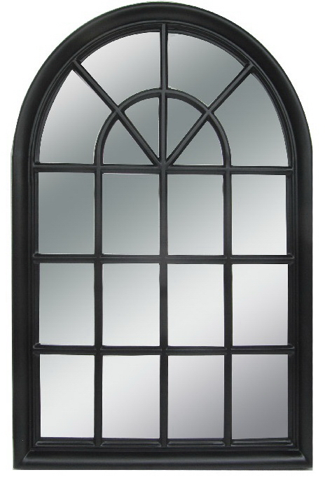 Dome Mirror Black