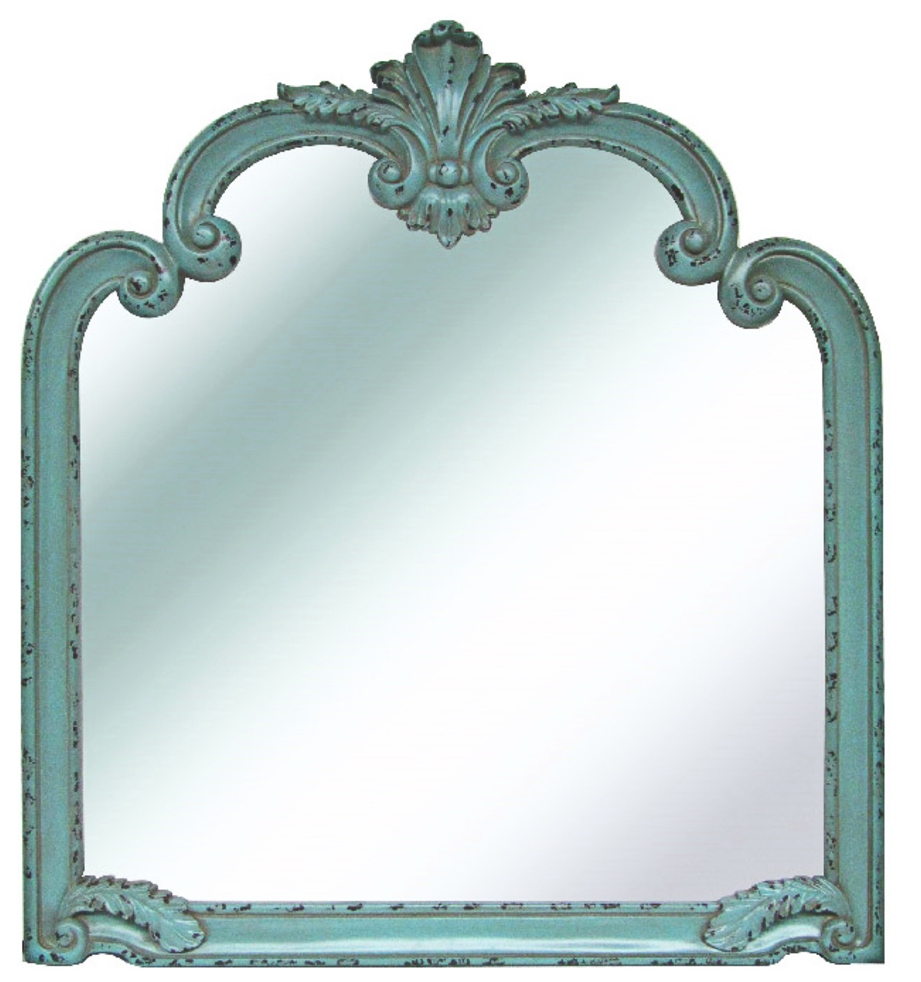 French Blue Mirror