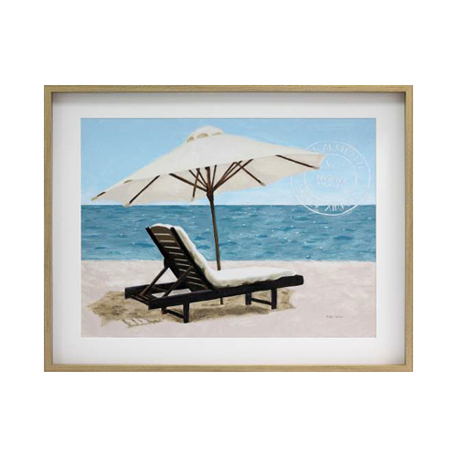 Wood Look Framed Print