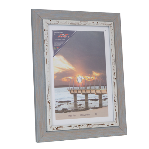 Blue-Wash picture frame